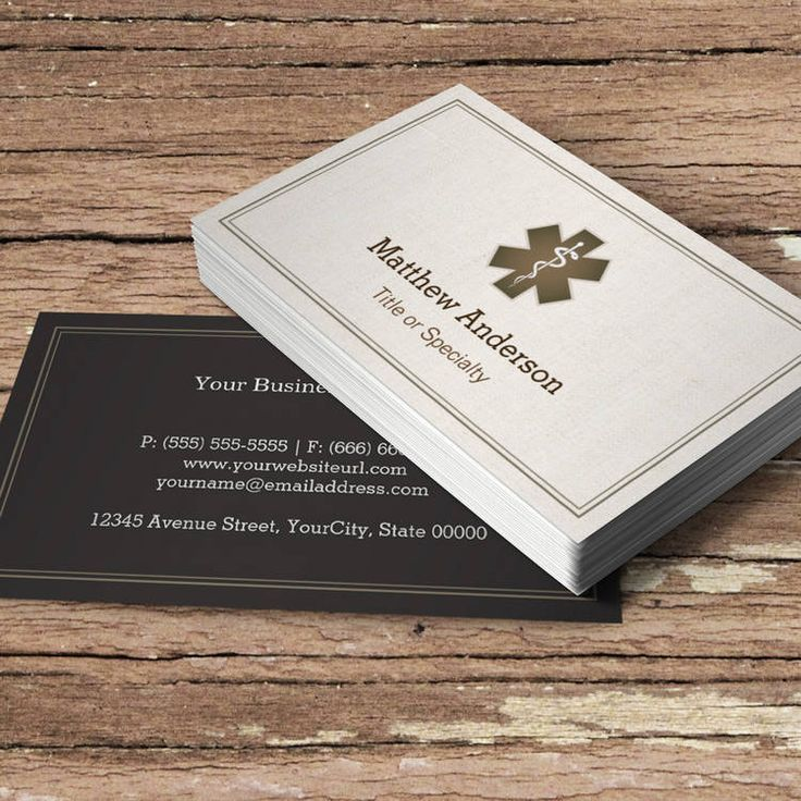 9 best physician business card images on Pinterest | Business card ...