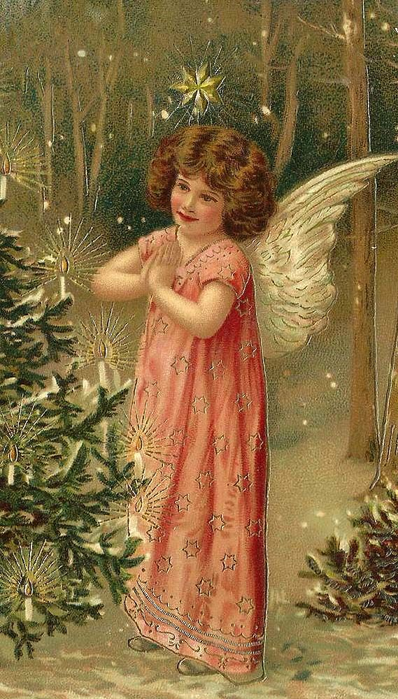 Vintage christmas angel                                                                                                                                                      More