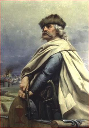 Jan Žižka - the Hussite general and leader.