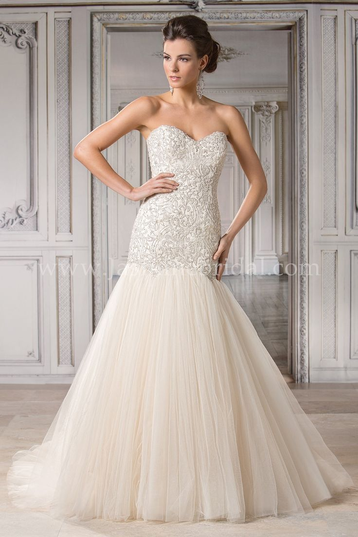 Jasmine bridal couture style t172057 in gold the for Gold beaded wedding dress