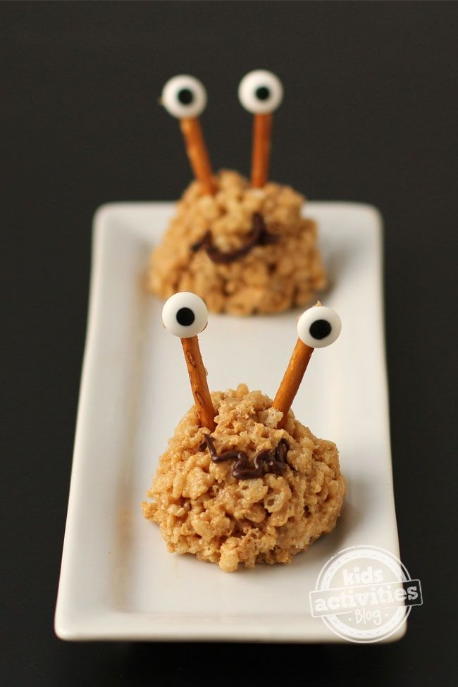 Healthy Kids Party Food idea Cereal Monsters