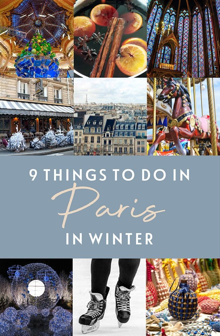 Paris In Winter 9 Things To Do In Paris At Christmas Christmas