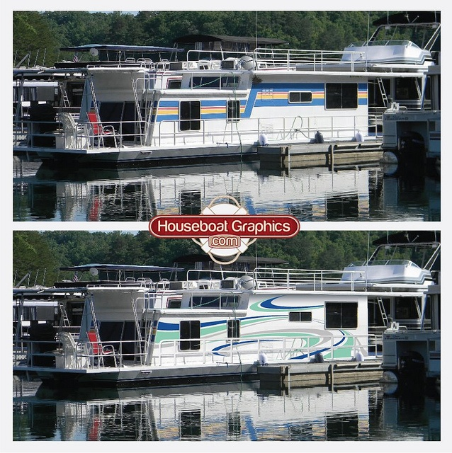 HouseboatgraphicsDIYboatnamevinyldecal Graphics - Houseboats vinyl decals