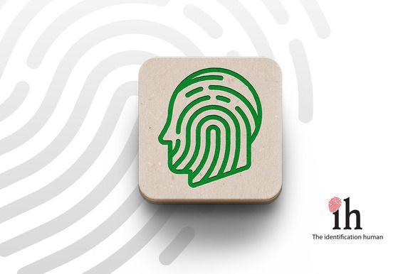 Logotype Human identification by Graphicshop on @creativemarket