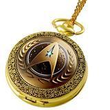 Vintage Star Trek Quartz Pocket Watch With Necklace [FREE] - Style 5