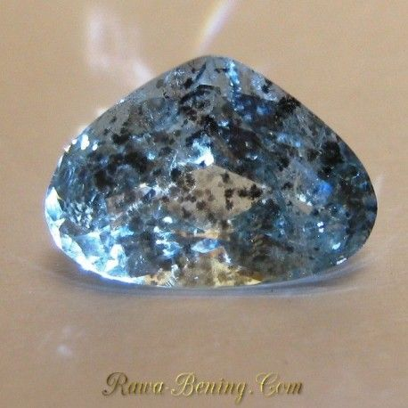 Batu Fancy Pear Cut Aquamarine 2.65 carat