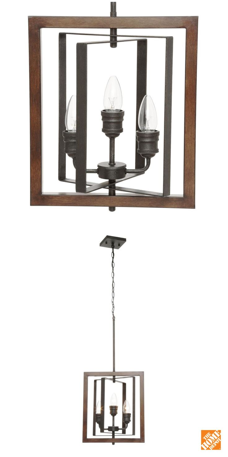 Home decorators collection palermo grove collection 3 light gilded iron pendant best wet bars - Vintage home decorating collection ...