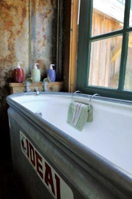 Fibergl Lined Stock Tank This Is My Tub