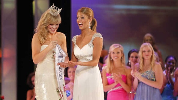 "Rachel Wyatt the newly crowned Miss Teen South Carolina 2012 is not undergoing recognition for merely winning the Miss Teen South Carolina Beauty pageant, but for ""Tebowing"" (Praying on one knee like Tim Tebow) after winning the pageant."