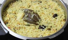 fluff up rice after cooking for chicken pulao recipe