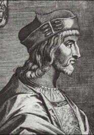 César Borgia, en un grabado que le representa como Cardenal.