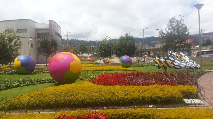 Centro comercial Santafé- Bogotá, julio de 2014