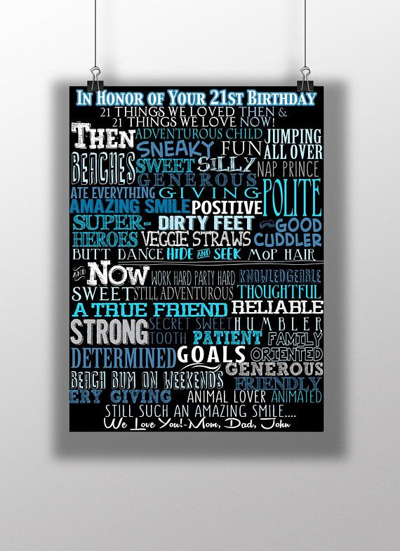 21 Reasons We Love You Sign Unique 21st Birthday Gift 21st Guys 21st Birthday 21st Birthday 21st Birthday Gifts