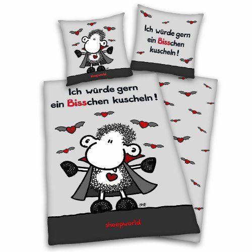 """Herding 447338050 Bettwäsche Sheepworld """"Vampir"""" / 80 x 8... https://www.amazon.de/dp/B0037HP3MS/ref=cm_sw_r_pi_dp_x_tUnjyb11HMAQ5"""