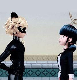 Miraculous Ladybug imágenes Chat Noir and Marinette fondo de pantalla and background fotos