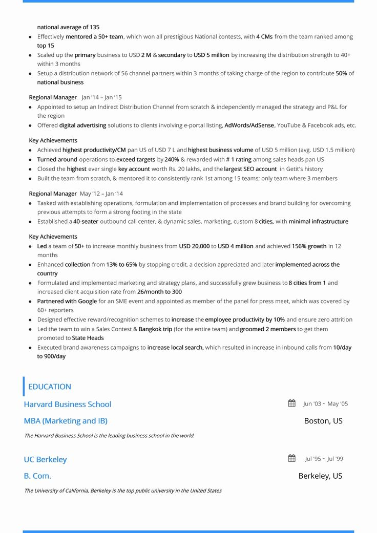 Two Page Resume Examples Best Of Two Page Resume format
