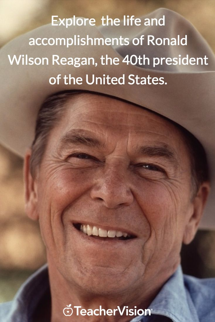 a biography of ronald reagan a president of the united states Ronald reagan, originally an american actor and politician, became the 40th president of the united states serving from 1981 to 1989 his term saw a restoration of prosperity at home, with.