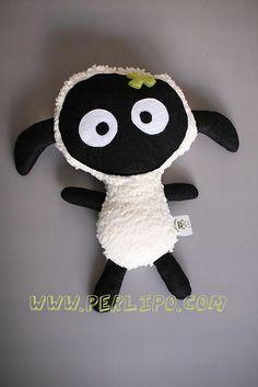 Tuto et patron gratuit de mon doudou mouton