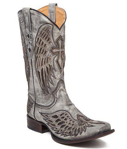 Corral Trevor Smoke Cowboy Boot - Men's Shoes | Buckle