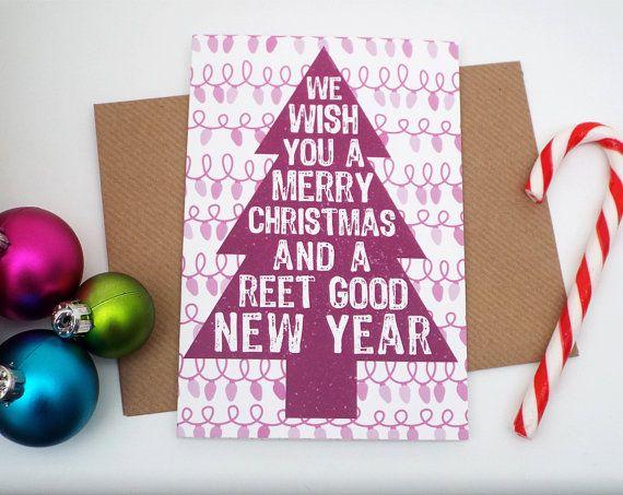 Christmas Card  Funny Christmas Card  by CraftyJacksStudio on Etsy