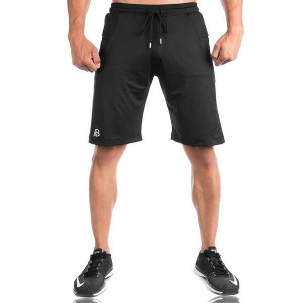 Summer Men Cotton Beach Shorts Bottoms Gyms Fitness Bodybuilding Man Casual Fashion Print Jogger Workout short Pants Sweatpants