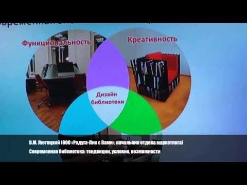 Современная библиотека: тенденции, условия, возможности - YouTube
