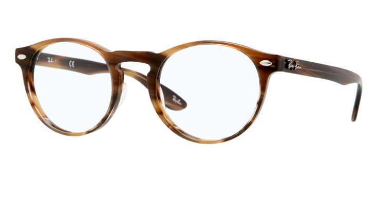RB5283 - 5139  NOUVEAUTÉ  Monture: striped brown