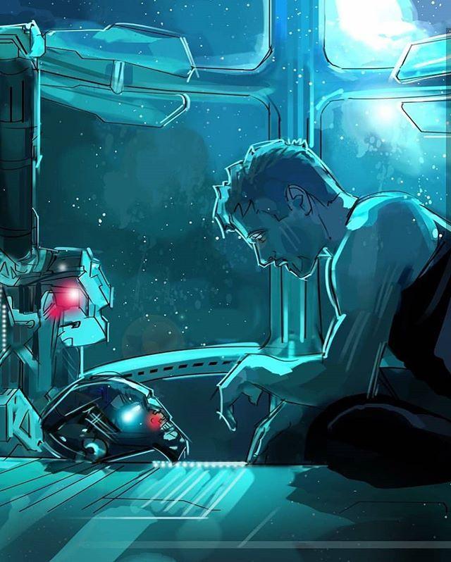 Just wow… #ironman #avengers #avengersendgame #marvel #dream  – Sybille Notheisen