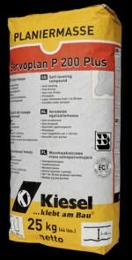 Servoplan P200 - A self levelling compound for on top of cement.  Ready for light traffic in just 2 hours.