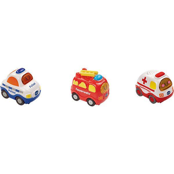 Tut Tut Baby Flitzer 3er Set Feuerwehr Polizei Krankenwagen Tut Tut Baby Flitzer Krankenwagen Feuerwehr