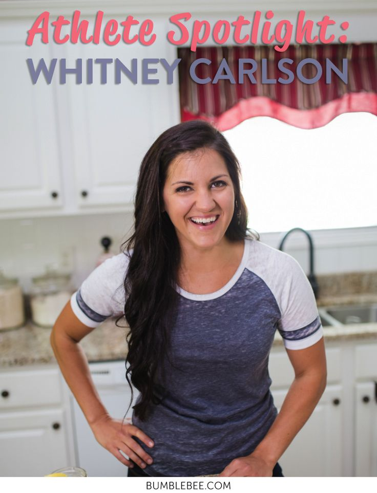 Bee Active Athlete Spotlight: Whitney Carlson