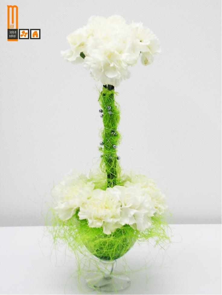 Especial Boda y flores. Contacta en www.milejardin.com/ #alcañiz #floristeria #decoracion #jardin #novios
