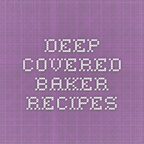 Pampered Chef Round Covered Baker Cake Recipe