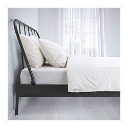 KOPARDAL Bettgestell, grau, Lönset - 160x200 cm - Lönset - IKEA