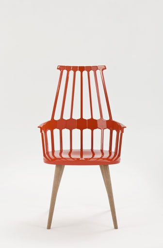 Patricia Urquiola's Comback chair with thermoplastic seat by Kartell