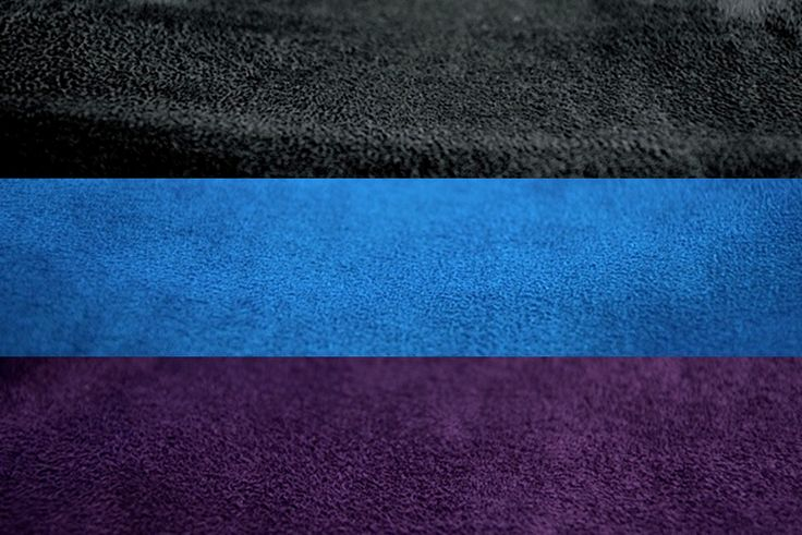 Microsuede: New Limited Edition Colours.  They are Jet Black, Mykonos Blue, Royal Purple.  Available in Supersac, Moviesac, Pillowsac, Playersac.  *Note* Purple is not available in Supersac.  However it is available in Kidsac.