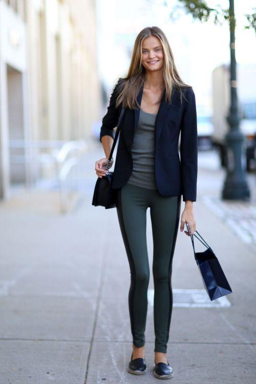 Kate Grigorieva Street Style At New York Fashion Week