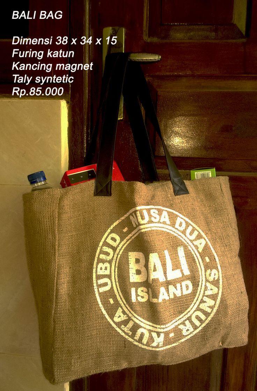 Jute Bali Bag