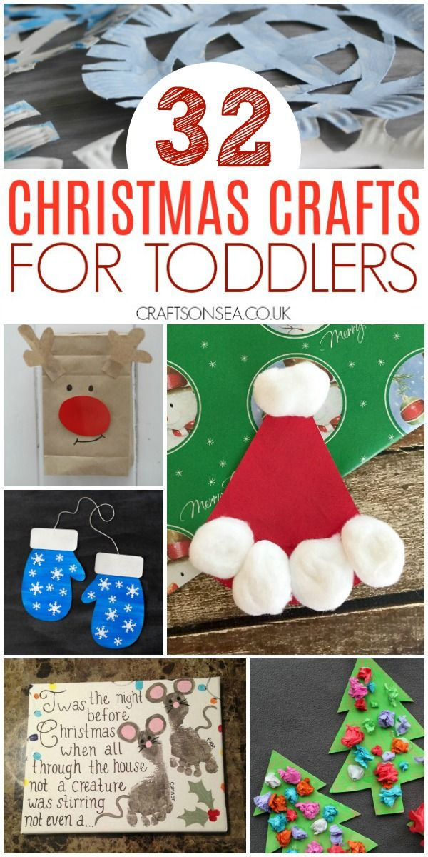 Easy And Fun Christmas Crafts For Toddlers Fun Christmas Crafts Christmas Crafts For Toddlers Preschool Christmas Crafts