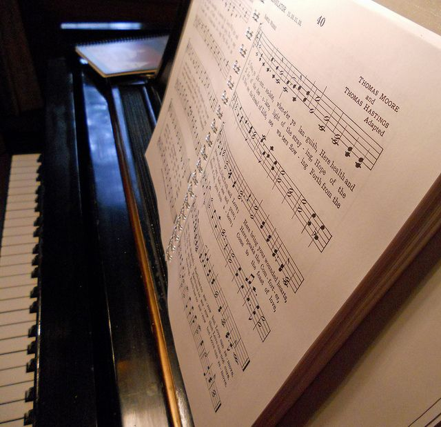 What's your favorite hymn or part of a hymn....and why?