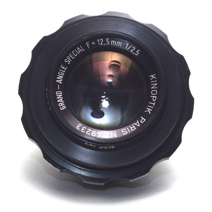 Kinoptik Paris 12.5mm F2.5 Grand-Angle Special Wide LENS Cameflex fit Eclair NPR