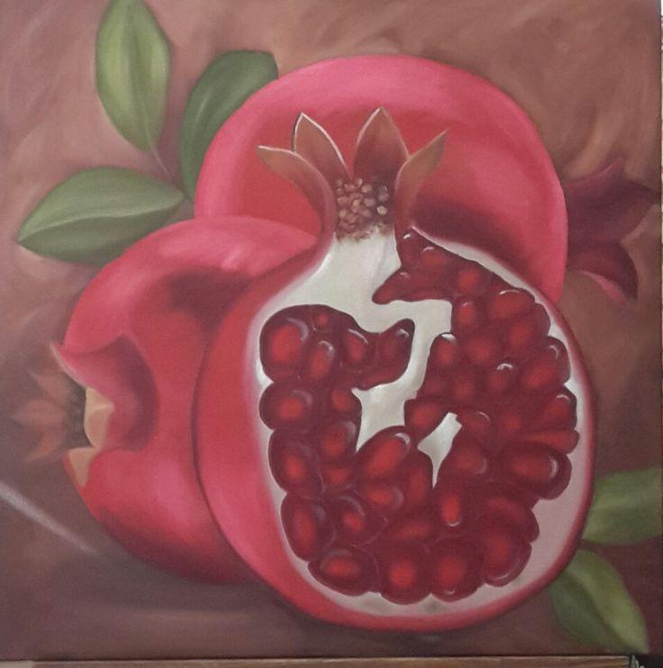 Pomegranates by Rut