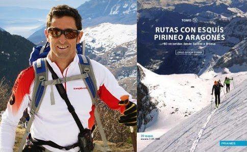 Jorge García-Dihinx y su nueva publicación Rutas con Esquís Pirineo Aragonés II