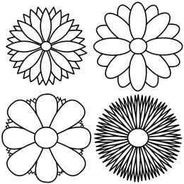 The 25 best Simple flower drawing ideas on Pinterest Dibujo