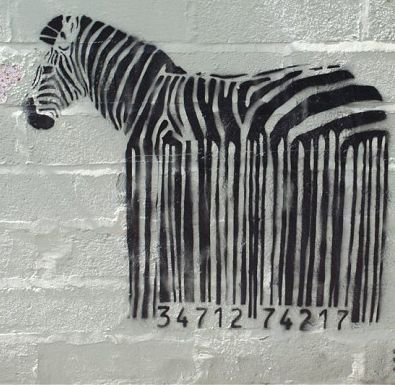 banksy Oh YESSS Zebra!!! May not mean much to most ppl but anyone w/EDS can appreciate this