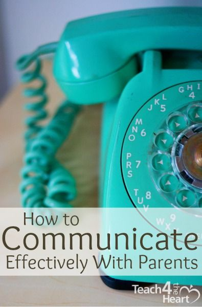 How to Communicate More Effectively with Parents | Teach 4 the Heart