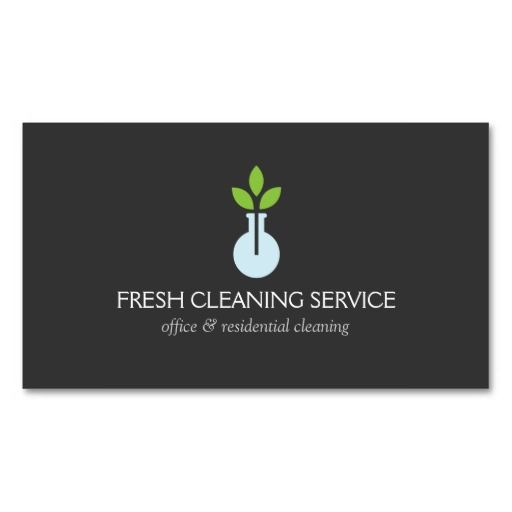 273 best cleaning business cards images on pinterest janitorial modern logo 4 for cleaning service and hospitality business cards wajeb