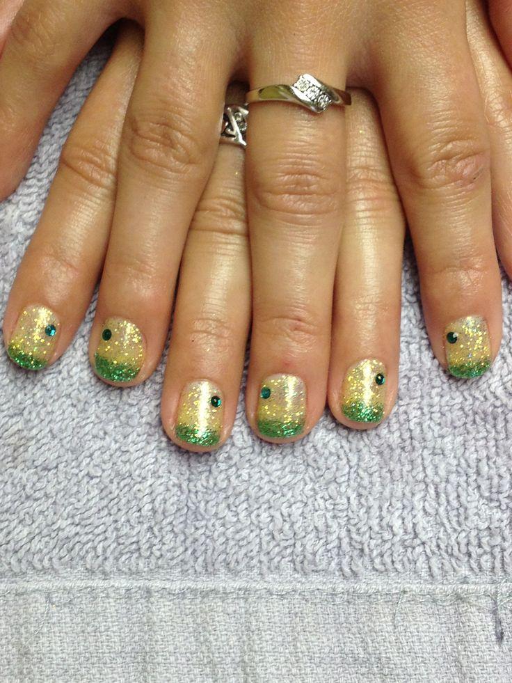 Attractive Green Bay Packer Nails Pattern - Nail Art Ideas ...