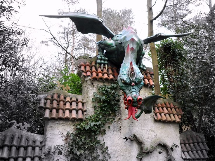The Dragon in the Efteling Fairytale Forest