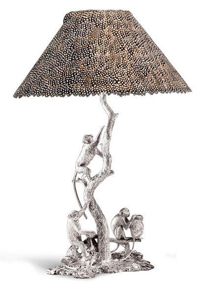 Patrick Mavros - Vervet Monkey lampshade